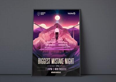 My Biggest Mistake Night