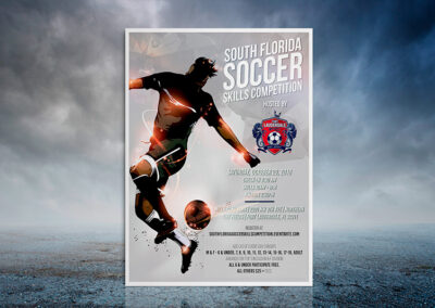 Soccer Skills Competition   Minimalist Artowork
