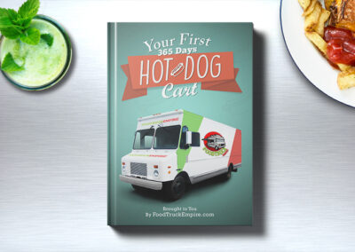 Your First 365 Days Hot Dog Cart