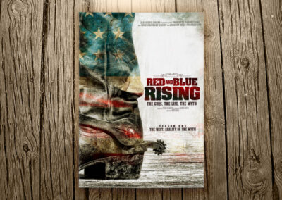 Red And Blue Rising