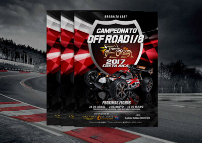 Campeonato Off Road 1/8 2017 Costa Rica