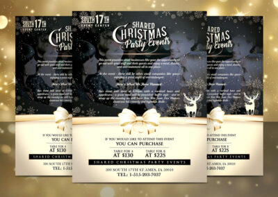 South 17th | Christmas Party Flyer
