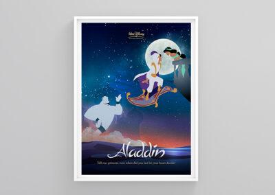 Aladdin   Minimalist artwork