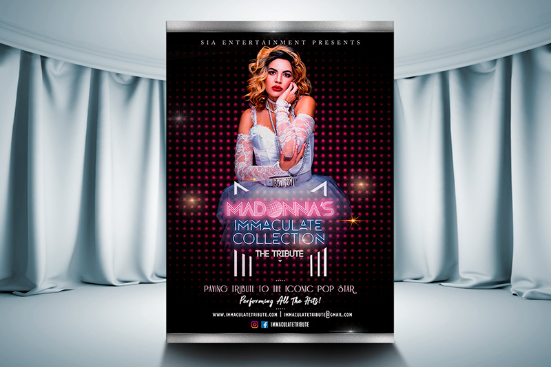 Madonnas Immaculate Collection | Concept #2