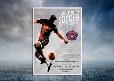 Soccer Skills Competition | Minimalist Artowork