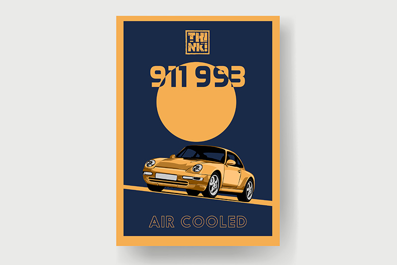 911 993 Air Cooled SEVEN